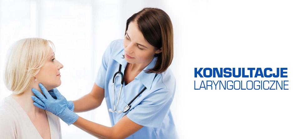 Konsultacje laryngologiczne