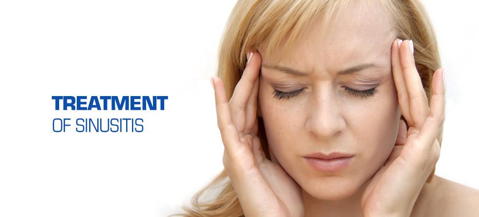 treatment of sinusitis
